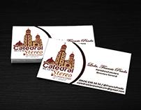 Tarjetas de Visita Catedral Stereo
