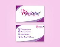 Cartão de visita Manicure