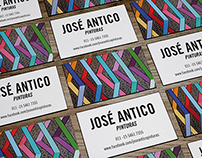 Business cards for artist