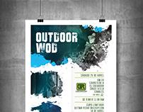 Crossfit 502 Poster Design