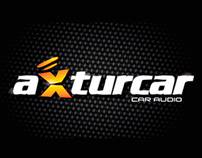 Axturcar, Logo design for car audio company.