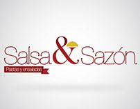 Salsa y Sazón / Logo y volantes