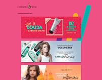 Cabelos Online - Web Banners