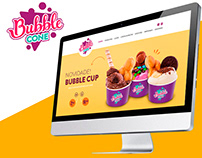 Landing Page - Bubble Cone Waffle