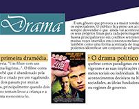 Cartaz sobre o gênero de cinema: Drama.
