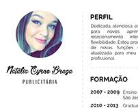 Currículo Vitae - Natália Braga