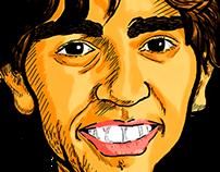 Caricatura Caio Franco