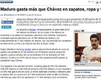 Maduro gasta más que Chávez