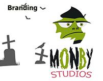 Branding Monby Studios proyecto estudiantil