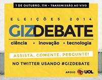 GizDebate - eleições 2014