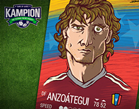 Amorebieta en KAMPION CARD GAME