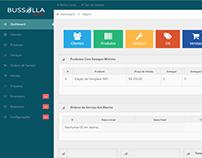 Designer em CSS3 de um Aplicativo Web e Mobile ERP