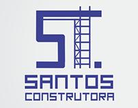 Desenvolvimento marca e cartão Santos Construtora
