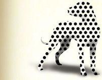 Poster geometric animal bo-box
