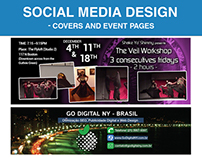 Capas para Redes Sociais / Social network covers