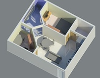 Apartamento Tipo1 - Minihouse Empreendimentos