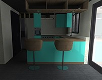 Proyecto cocina Cyan / Cyan kitchen project