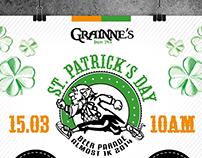 Design / Campanha St. Patrick's Day / Grainne's Pub