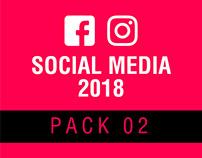 Social Media 2018 - Pack 02