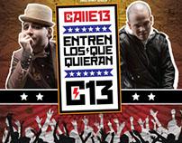 Calle 13 en Panama