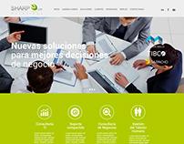 Sharp ERP Solutions - Rediseño de sitio web