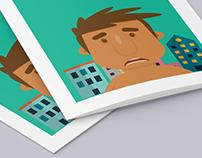 Flyer infográfico #3  Health Me App