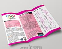 Tríptico: Olimpiadas Londres 2012