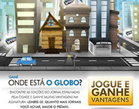 E-mail marketing do game do Globo
