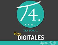 Piezas Plataformas Digitales T4 COLOMBIA