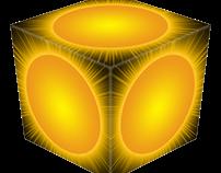 3D Sun Cube