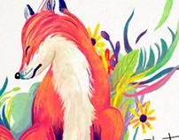 Animal tales - Book Illustration