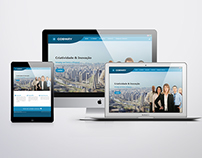 Institucional Site and Branding for Cobway
