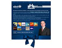 E-mail Marketing - Martins Atacadista 60 Anos 2013