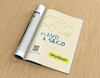 Anúncio Campanha #lavoaseco - Revista Quatro Rodas