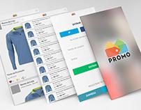 Screens Promo app