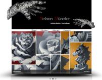 Diseño y maquetación web / www.nelmuseler.com.ar