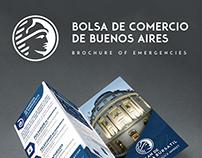 Brochure of Emergencias - Bolsa de Comercio