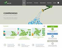 Sitio web de Valos