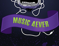 Music 4Ever Illustration