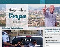 Alejando Vespa - Web Site