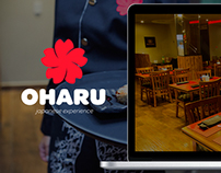 Oharu Japanese Experience | Interface Web