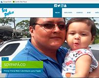 Sitio Web - Logo SOYPAPÁ ( Tesis de grado para optar el