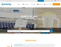 Renovación Website, Empleate.com