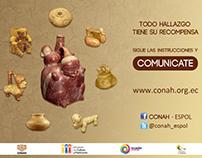 Campaña para el rescate de piezas ancestrales