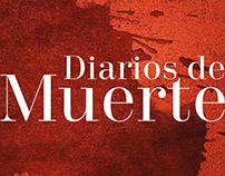 Diarios de Muerte (Colombia). Portada de libro.
