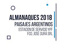 Almanaques 2018 - Paisajes Argentinos