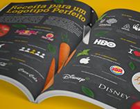 Receita para um Logotipo Perfeito ‧ Infográfico