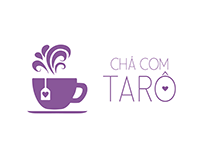 Re-design de Marca - Chá com Tarô