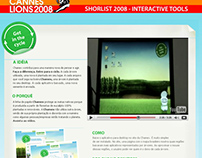 Desktop Aplicative for Chamex - Short List Cannes 2008