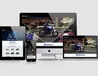Motomel -  Website Redesign